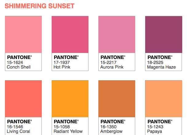 Shimmering Sunset P J
